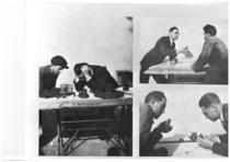 I Fratelli Cassani al tavolo di progettazione.