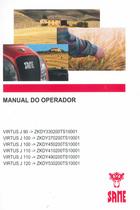 VIRTUS J 90 ->ZKDY330200TS10001 - VIRTUS J 100 ->ZKDY370200TS10001 - VIRTUS J 100 ->ZKDY450200TS10001 - VIRTUS J 110 ->ZKDY410200TS10001 - VIRTUS J 110 ->ZKDY490200TS10001 - VIRTUS J 120 ->ZKDY530200TS10001 - Manual do operador