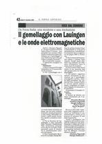 Il gemellaggio con Lauingen e le onde elettromagnetiche