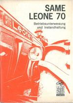 LEONE 70 - Bedienung und instandhalthung