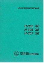 H 305 XE - 306 XE - 307 XE - Libretto Uso & Manutenzione