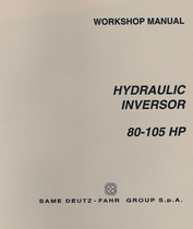 HYDRAULIC INVERSOR 80-105 HP - Workshop manual