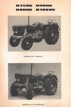 D 7506 - D 8006 - D 9006 - D 10006 - Werkstatthandbuch