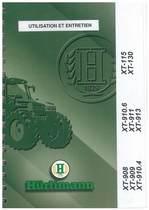 XT 908-909-910.4-910.6-911-913-115-130 - Utilisation et Entretien