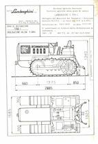 Atto di omologazione della trattrice Lamborghini C 554 L