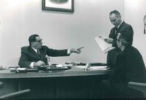 Ing. Francesco Cassani con i propri collaboratori