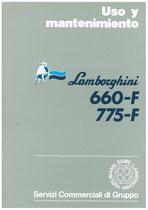 660 F - 775 F - Uso y Mantenimiento