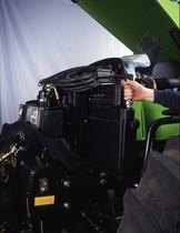 [Deutz-Fahr] particolari dei radiatori di trattore serie Agrotron