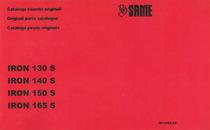 IRON 130 S - 140 S - 150 S - 165 S - Catalogo ricambi originali / Original parts catalogue / Catalogo peças originais