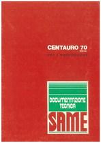 CENTAURO 70 SPECIAL - Libretto uso & manutenzione
