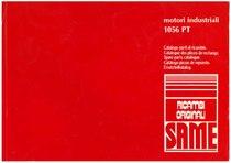 MOTORI INDUSTRIALI 1056 PT - Catalogo Parti di Ricambio / Catalogue de pièces de rechange / Spare parts catalogue / Ersatzteilliste / Lista de repuestos