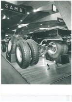 Esposizione di Samecar Elefante 4x4 TSA al Salone dell'Automobile di Torino
