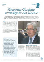 """Giorgetto Giugiaro, il """"designer del secolo"""""""