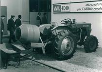 Trattore SAME Italia 35 con betoniera