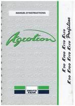 AGROTRON K 90-100-110-120 PROFILINE - Utilisation et Entretien