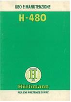 H 480 - Libretto Uso & Manutenzione