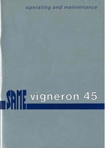 VIGNERON 45 - Operating and maintenance