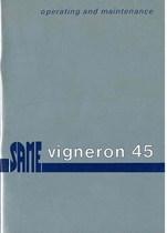 VIGNERON 45 - Operating and maintenance