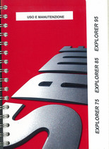 EXPLORER 75 - 85 - 95 - Uso e manutenzione