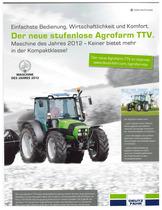 Der neue stufenlose Agrofarm TTV