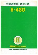 H 480 - Utilisation et Entretien