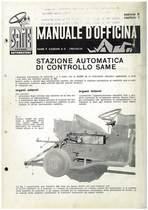 SAMETTO PULEDRO 250-360 - Manuale di officina, SAC