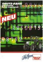 DEUTZ-FAHR Agrotronic in DX-Traktoren