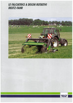 Deutz-Fahr Falciatrici a dischi rotativi