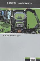 AGROTRON L720 ->10010 - Obsluga i konserwacji