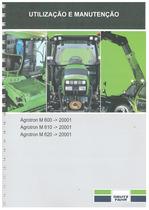 AGROTRON M 600-610-620 - Uso e Manutenção