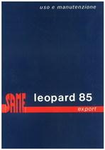 LEOPARD 85 EXPORT - Libretto uso & manutenzione