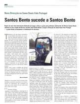 Santos Bento sucede a Santos Bento