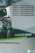 5090.4 G ->ZKDAW40200TD10001 - 5090.4 G ->ZKDAV20200TD10001 - 5105.4 G ->ZKDAW80200TD10001 - 5105.4 G ->ZKDAV60200TD10001 - 5115.4 G ->ZKDAX20200TD10001 - 5115.4 G ->ZKDAW00200TD10001 - Betriebsanleitung