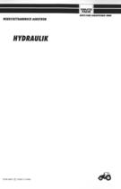 AGROTRON HYDRAULIK - Werkstatthandbuch