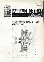 SAME 480 - Manuale di officina Frizione