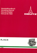 FL 413 R - Werkstatthandbuch / Workshop manual / Manuel d'atelier / Manual de taller