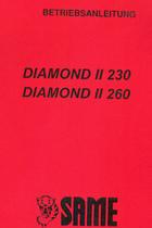 DIAMOND II 230 - DIAMOND II 260 - Betriebsanleitung