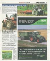 Hurlimann back in 120hp+ tractor sector