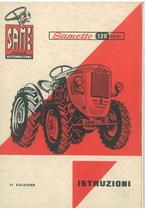 SAMETTO 120 HP 21 - Libretto uso & manutenzione