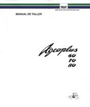AGROPLUS 60 - AGROPLUS 70 - AGROPLUS 80 - Manual de taller