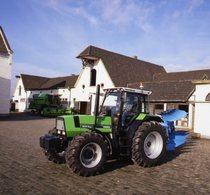 [Deutz-Fahr] trattore Agrostar 6.61 con aratro