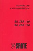 SILVER 160 - SILVER 180 - Betriebs - und Wartungsanleitung
