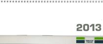 Calendario da scrivania orizzontale 2013