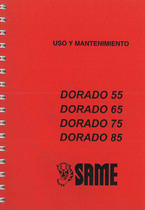 DORADO 55 - 65 - 75 - 85 - Uso y Mantenimiento