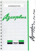AGROPLUS F 70 - 75 - 90 - 100 - Betriebsanleitung