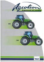AGROTRON 230 - 260 Argomenti di vendita