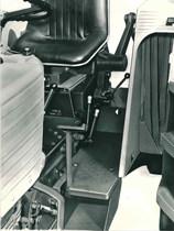 Trattore modello DRAGO - Particolare del sedile