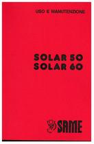 SOLAR 50-60 - Libretto uso e manutenzione