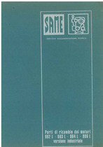 MOTORE - 982L - 983 L - 984 L - 986 L - Catalogo Parti di Ricambio / Catalogue de pièces de rechange / Spare parts catalogue / Lista de repuestos