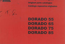 DORADO 55-65-75-85 - Catalogo Parti di Ricambio / Spare parts catalogue / Lista de repuestos